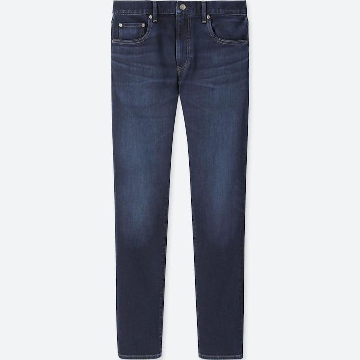 Men Slim-Fit Jeans, Blue, Large