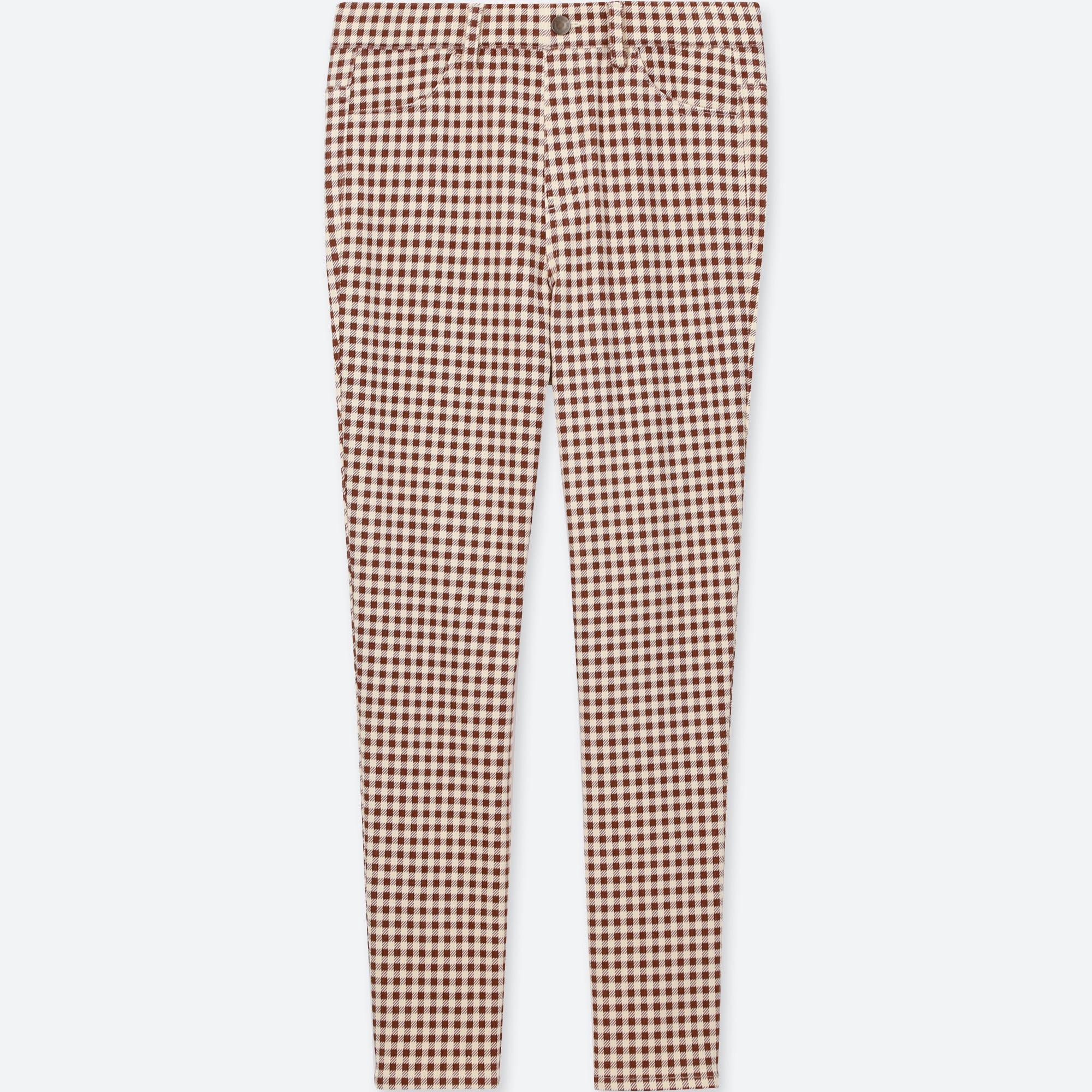 Women Print Cropped Leggings Pants Uniqlo Us