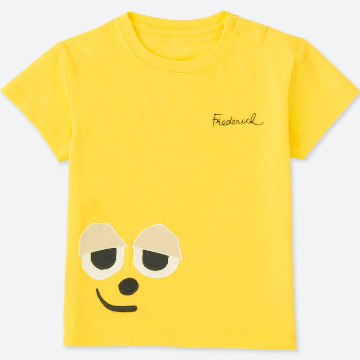 TODDLER THE PICTURE BOOK SHORT-SLEEVE GRAPHIC T-SHIRT, YELLOW, large