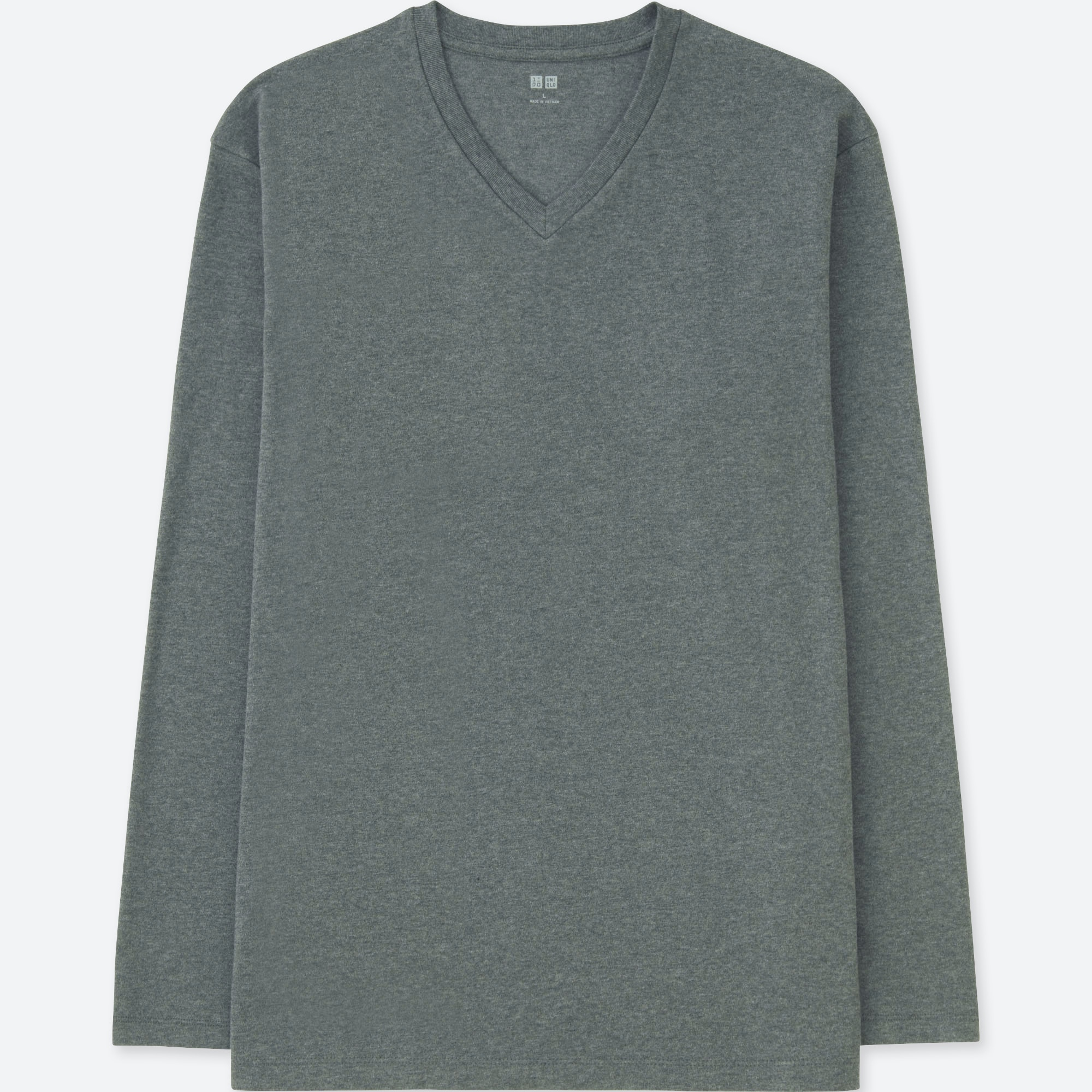 diversified in packaging amazing selection fine quality MEN SOFT TOUCH V-NECK LONG-SLEEVE T-SHIRT