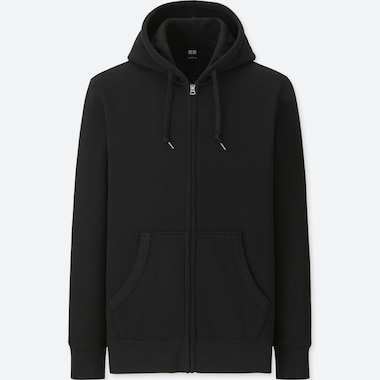 MEN LONG SLEEVED ZIPPED HOODIE