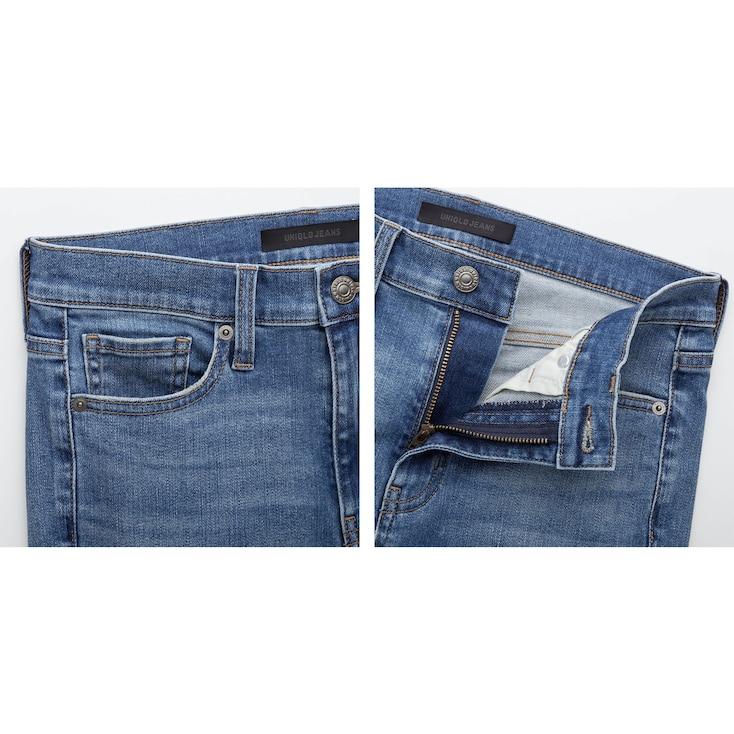 Women High-Rise Cigarette Jeans, Black, Large