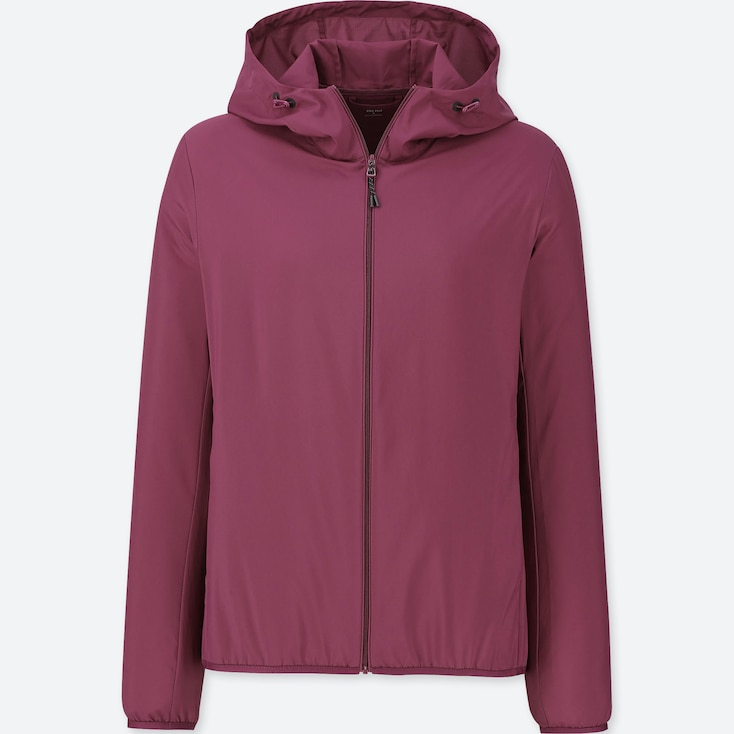 WOMEN POCKETABLE PARKA, PURPLE, large