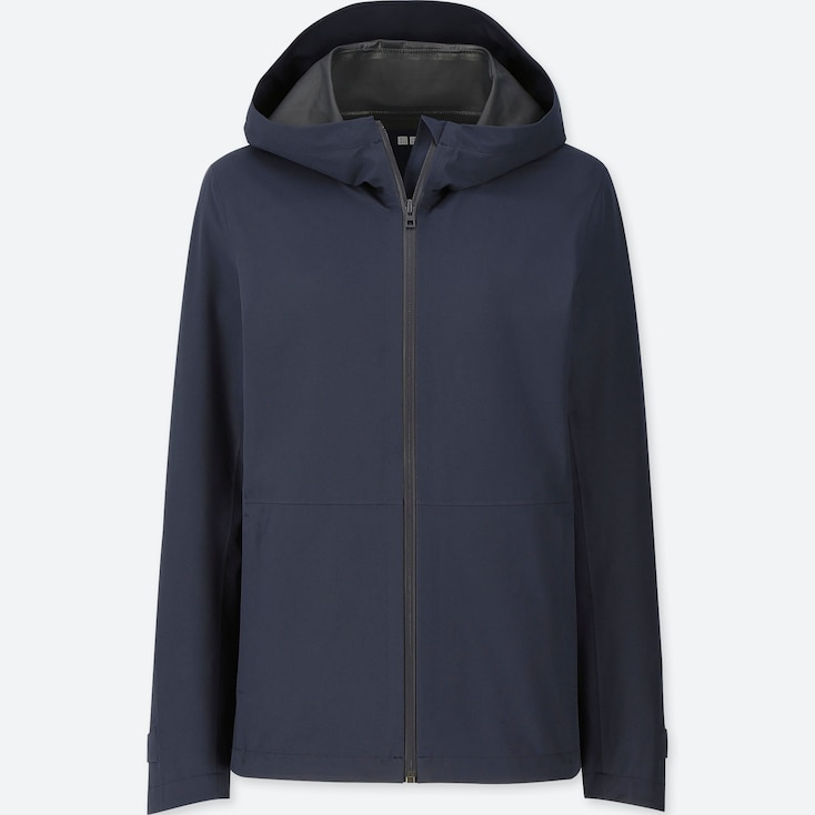WOMEN BLOCKTECH PARKA, NAVY, large