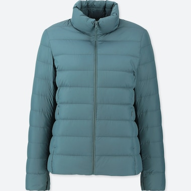 WOMEN ULTRA LIGHT DOWN JACKET, DARK GREEN, medium