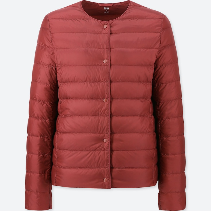 WOMEN ULTRA LIGHT DOWN COMPACT JACKET, RED, large