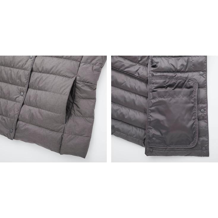 Women Ultra Light Down Compact Jacket, Purple, Large