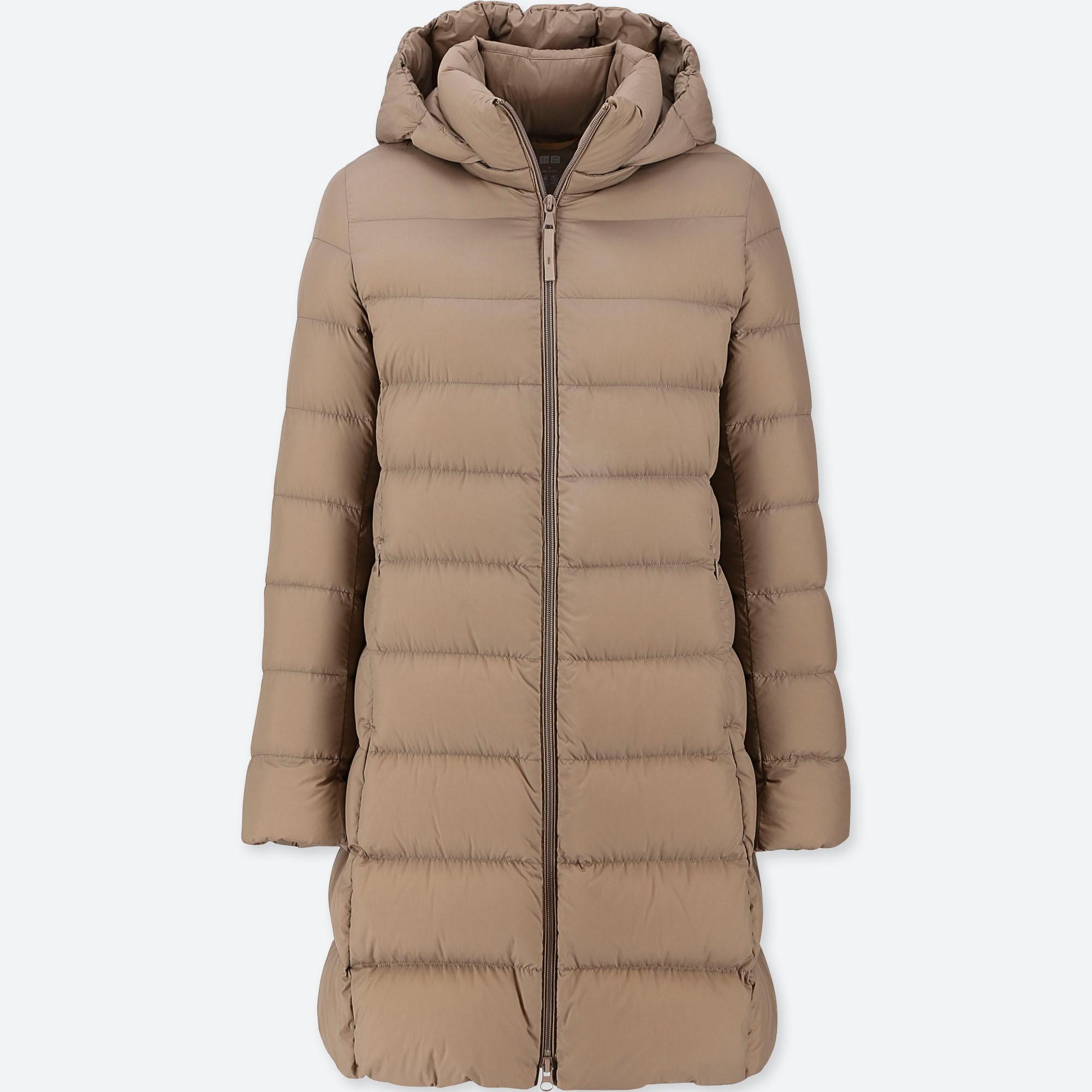Women Ultra Light Down Hooded Coat Uniqlo Us