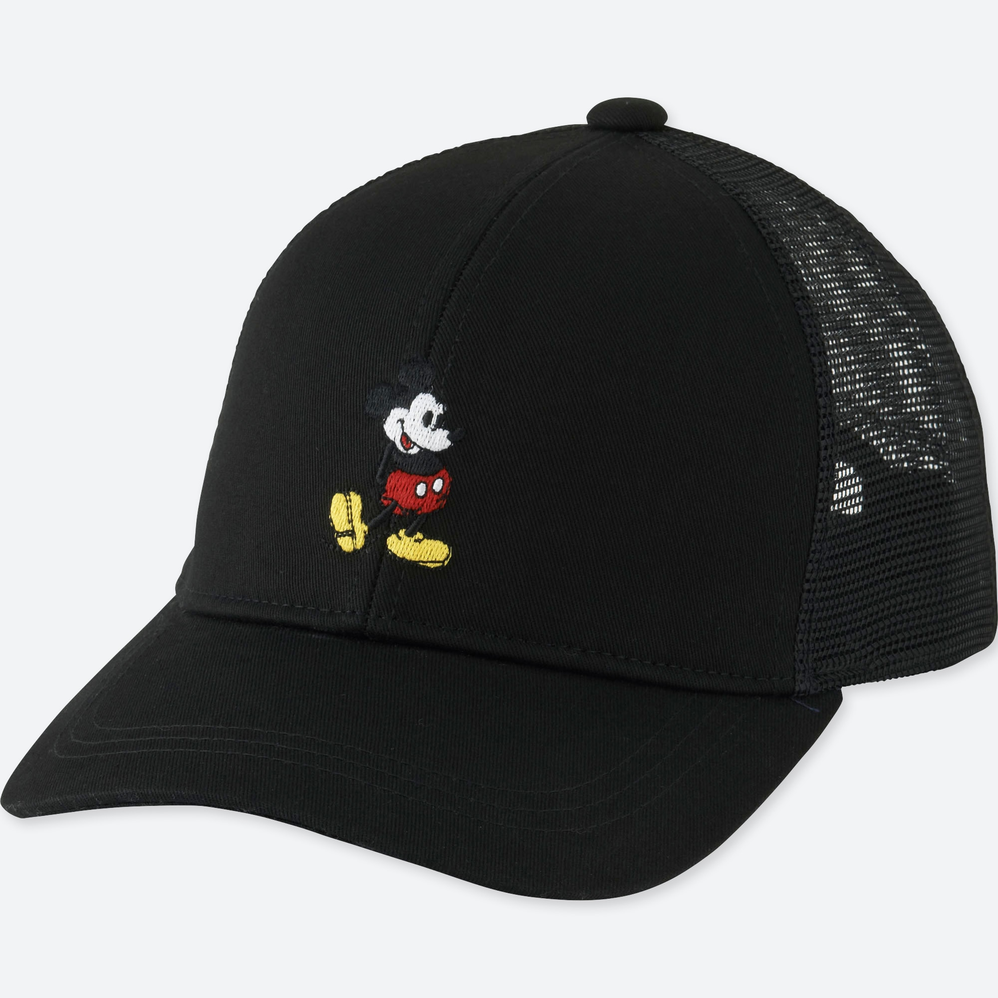new style d6122 d70a1 KIDS MICKEY STANDS MESH CAP, BLACK, large Opens a New Window.