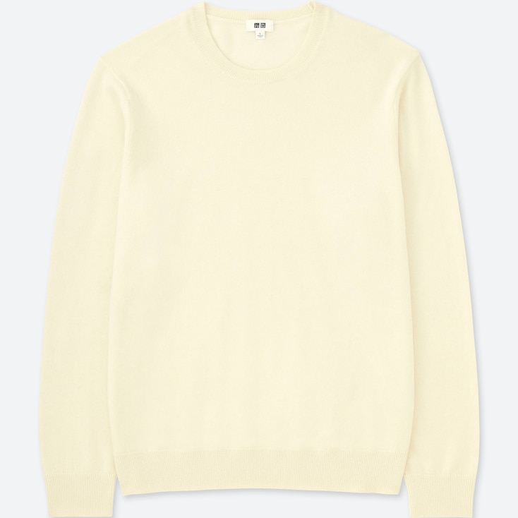 PULL EN CACHEMIRE COL ROND HOMME