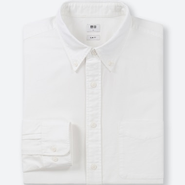 MEN SLIM FIT OXFORD SHIRT (BUTTON-DOWN COLLAR)
