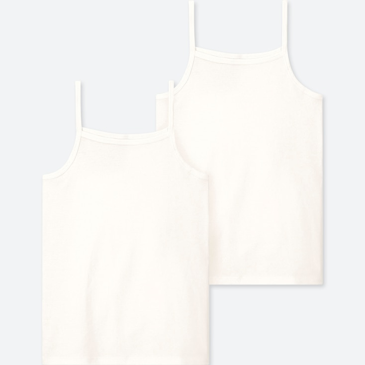 KIDS COTTON INNER CAMISOLE (SET OF 2), WHITE, large