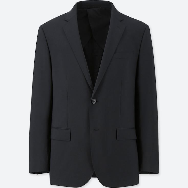 Men Custom Stretch Wool Slim-Fit Jacket (Online Exclusive), Black, Large