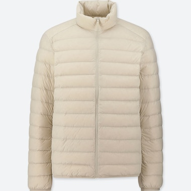 MEN ULTRA LIGHT DOWN JACKET, OFF WHITE, medium