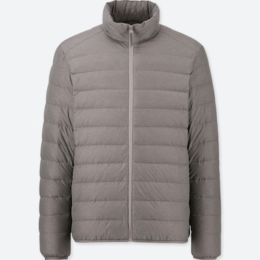 MEN ULTRA LIGHT DOWN JACKET, GRAY, medium