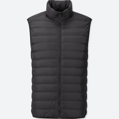 MEN ULTRA LIGHT DOWN VEST, BLACK, medium