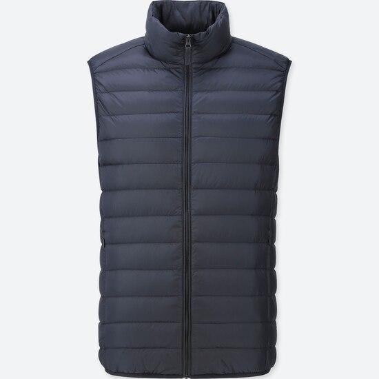 Men Ultra Light Down Vest  (350) by Uniqlo