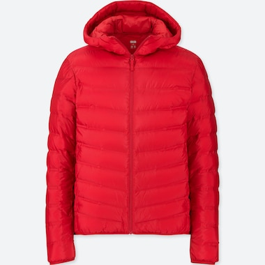 MEN ULTRA LIGHT DOWN SEAMLESS PARKA, RED, medium