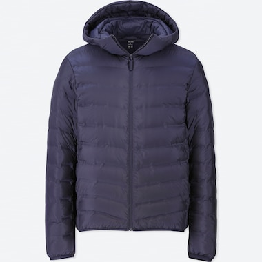 MEN ULTRA LIGHT DOWN SEAMLESS HOODED PARKA