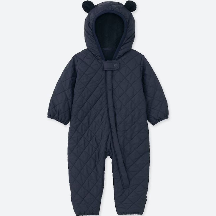 BABIES NEWBORN WARM PADDED LONG SLEEVED ALL IN ONE