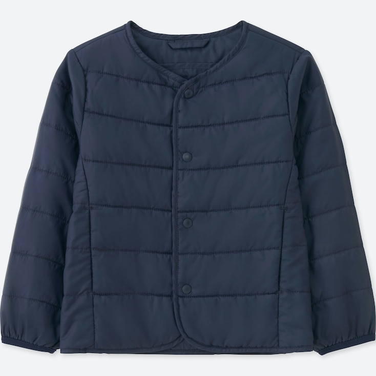 TODDLER LIGHT WARM PADDED COMPACT JACKET, NAVY, large