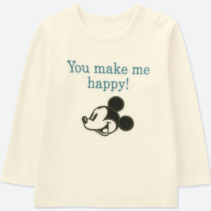 TODDLER DISNEY COLLECTION UT (LONG-SLEEVE GRAPHIC T-SHIRT), OFF WHITE, large