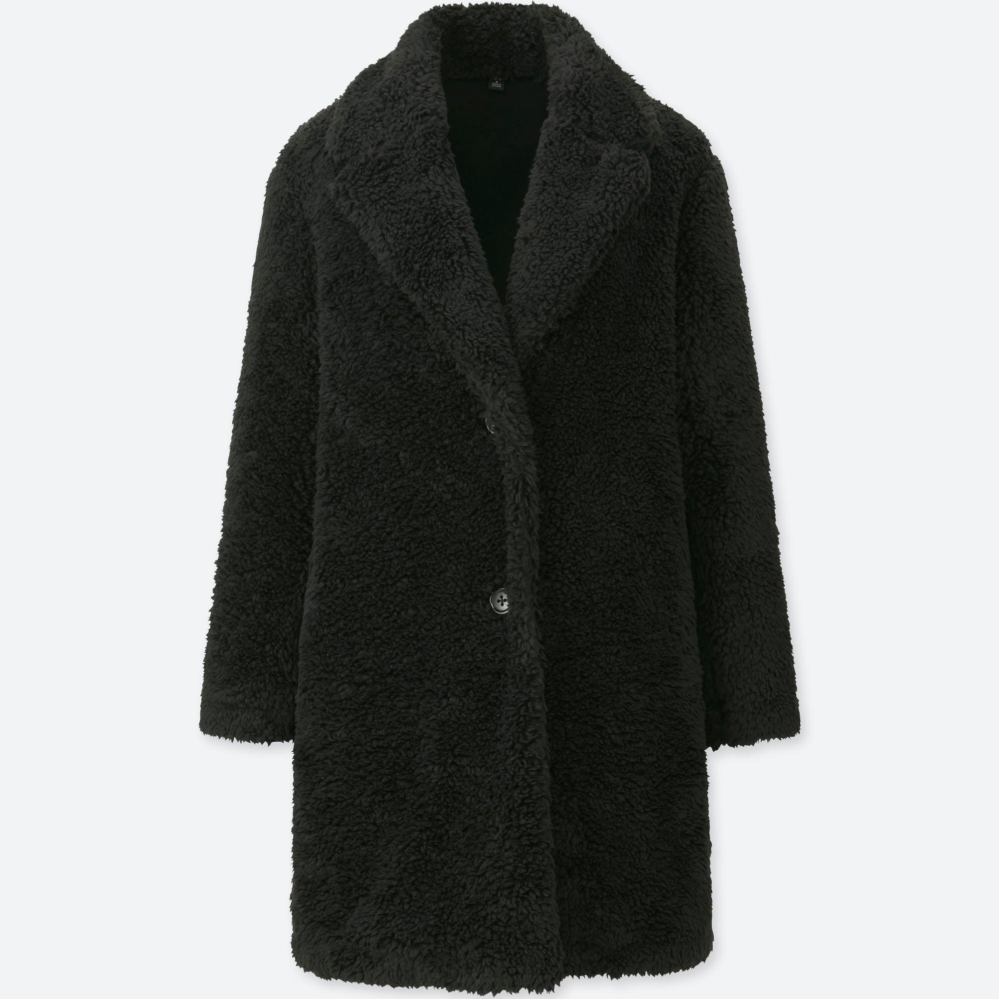 Uniqlo Fleece Coat