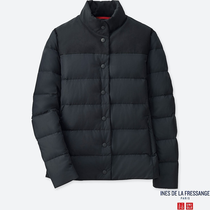 WOMEN DOWN JACKET (INES DE LA FRESSANGE), NAVY, large