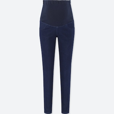 WOMEN Maternity Denim Leggings Trousers (L29)
