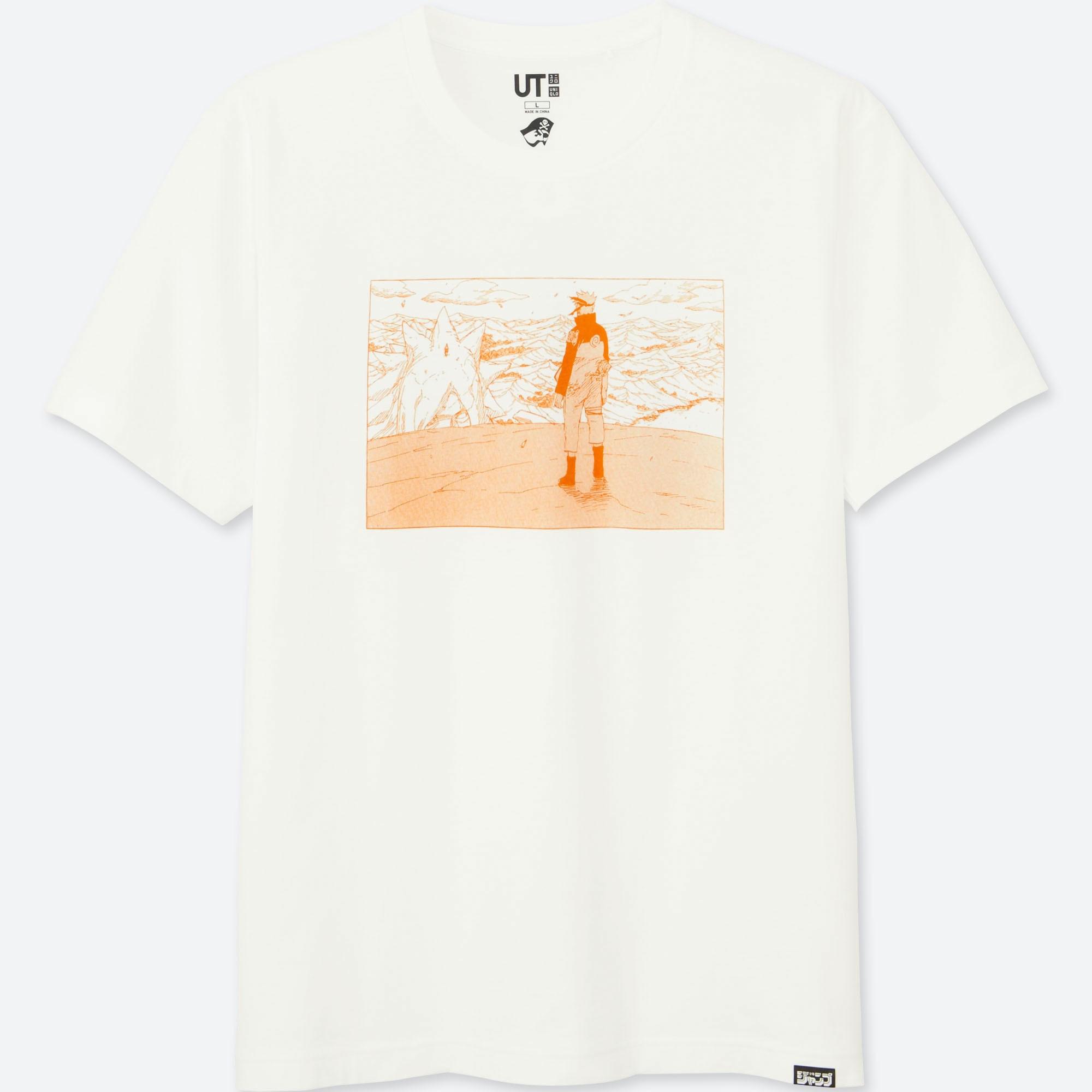 NARUTO MANGA UT UNIQLO Weekly-Jump graphic T-Shirt Japan
