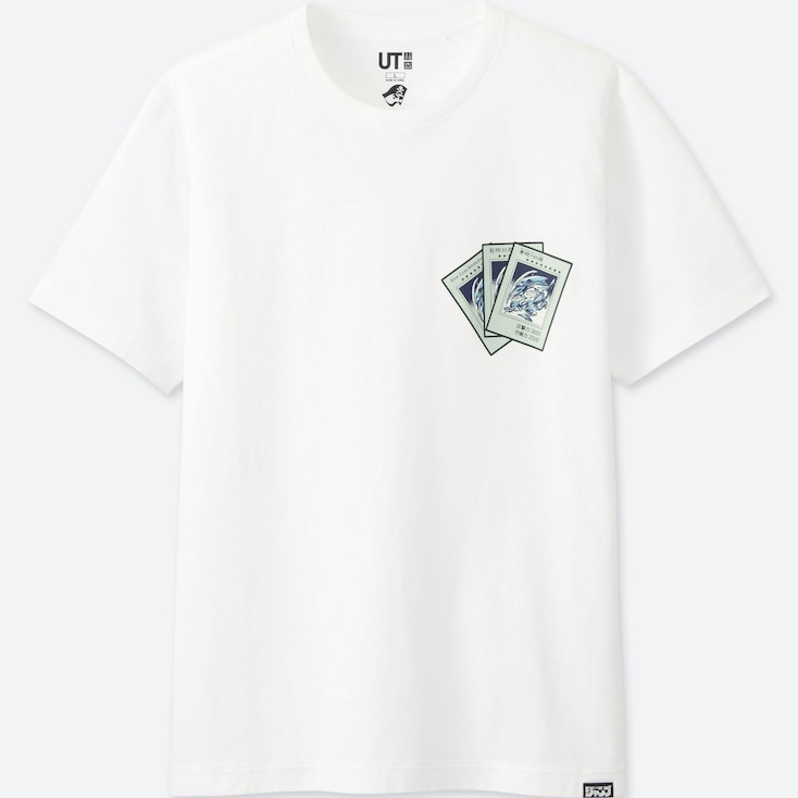 Jump 50th Ut Yu-Gi-Oh! (Short-Sleeve Graphic T-Shirt), White, Large