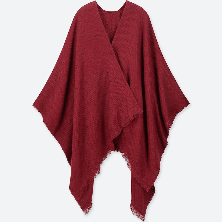 2-WAY STOLE, RED, large