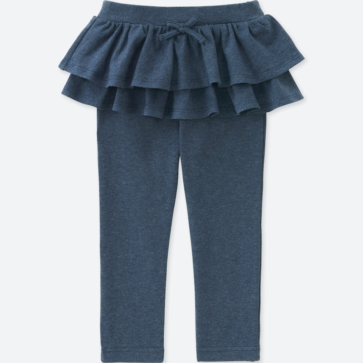 TODDLER FRILL PANTS, BLUE, large