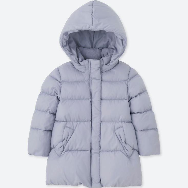 TODDLER WARM PADDED COAT, BLUE, large