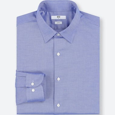 MEN EASY CARE STRETCH SLIM FIT OXFORD SHIRT (REGULAR COLLAR)