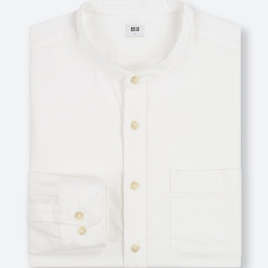 MEN SOFT COTTON REGULAR FIT SHIRT (GRANDAD COLLAR)