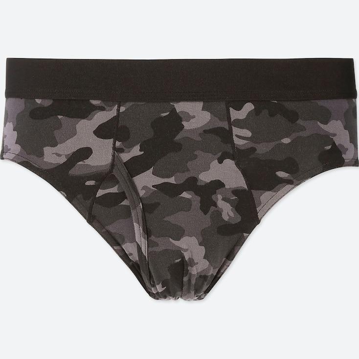 MEN SUPIMA® COTTON BRIEFS, BLACK, large