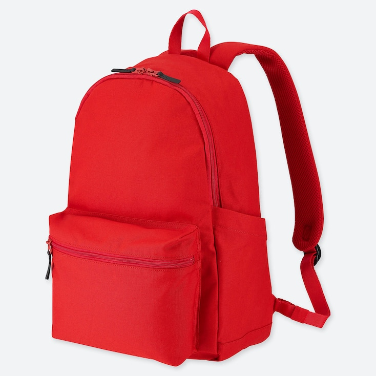 Backpack, Red, Large