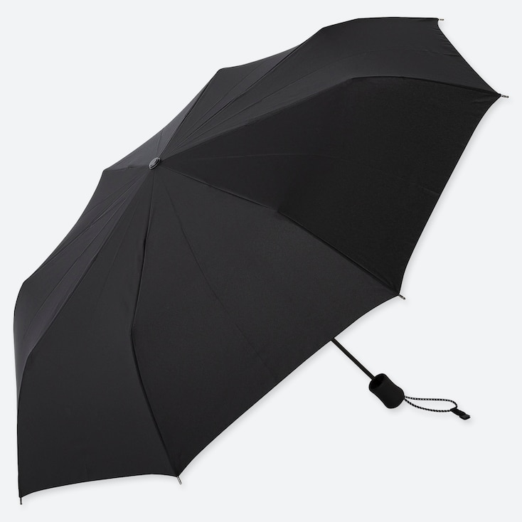 COMPACT UMBRELLA, BLACK, large