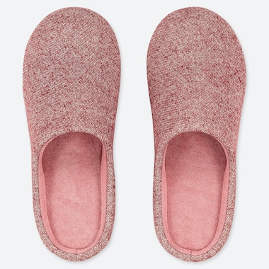 SLIPPERS, RED, medium