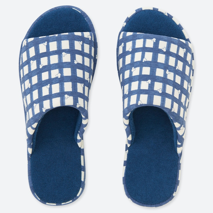 MICKEY BLUE SLIPPERS, BLUE, large