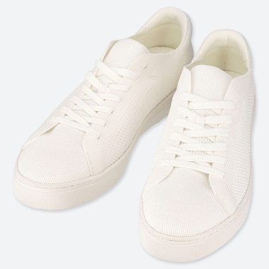 MEN KNIT SNEAKERS, OFF WHITE, medium