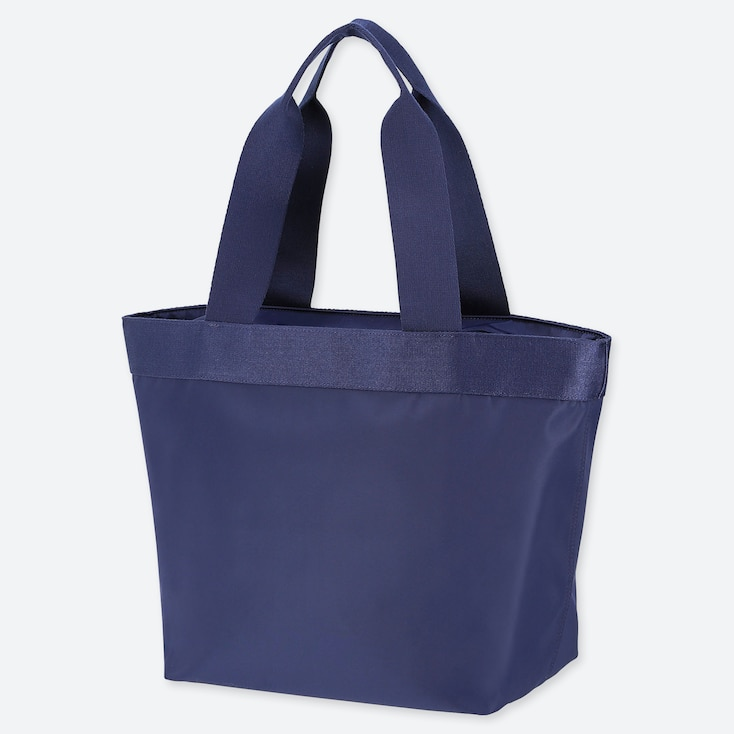 NYLON TOTE BAG, NAVY, large