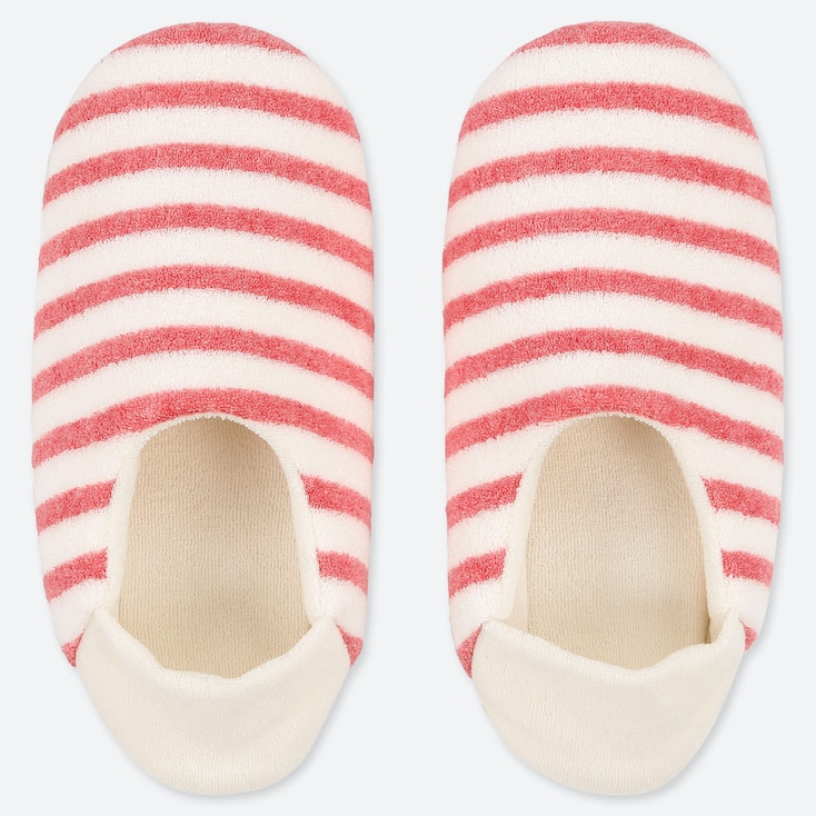 WOMEN PILE SLIPPERS, PINK, large