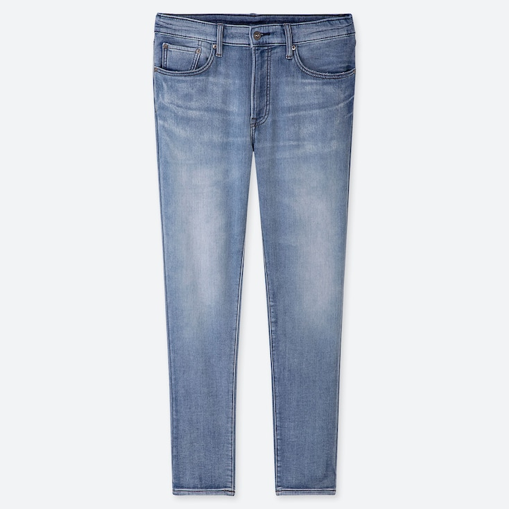 MEN EZY JEANS, BLUE, large