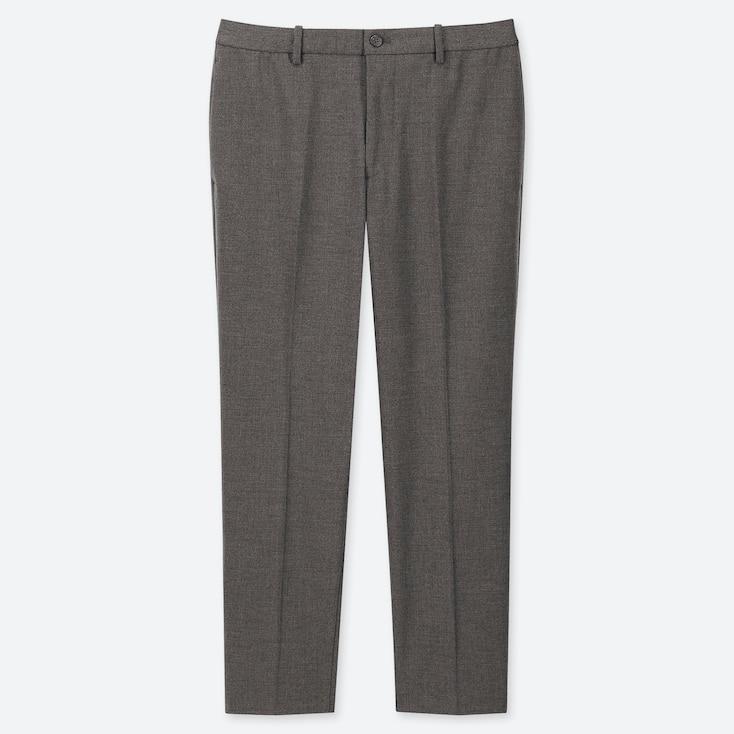 MEN EZY ANKLE-LENGTH PANTS, GRAY, large