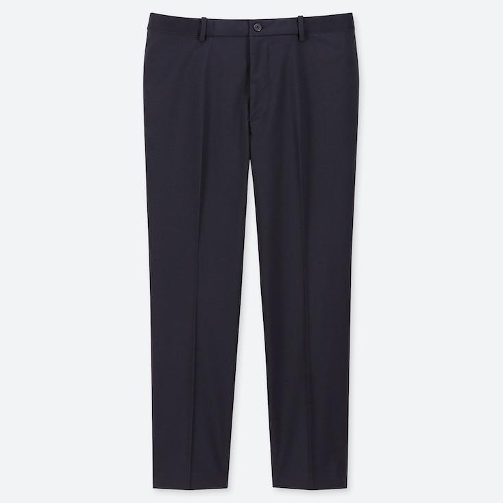 MEN EZY ANKLE-LENGTH PANTS, NAVY, large