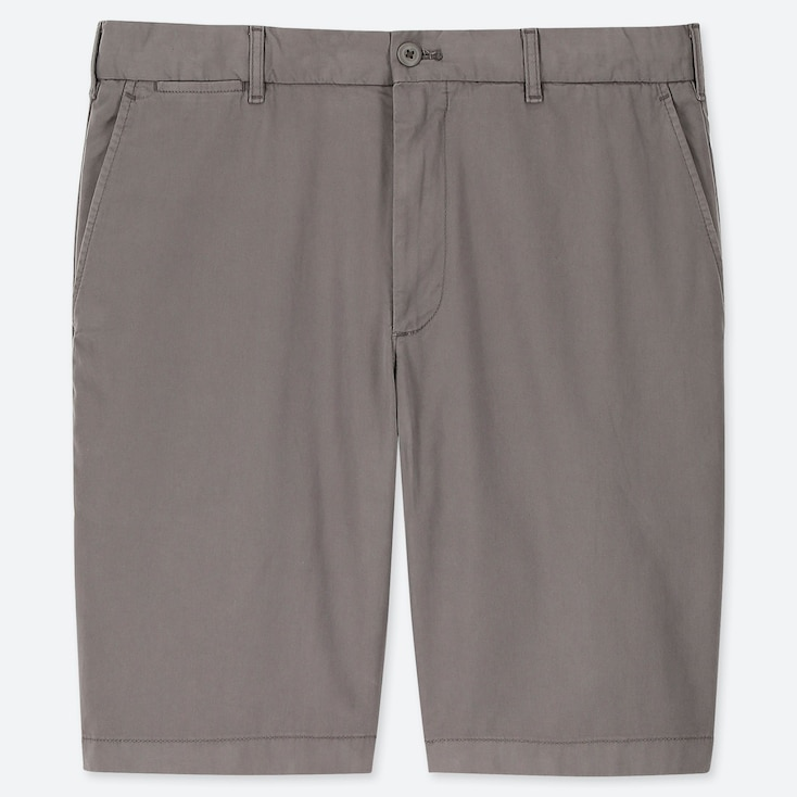 MEN CHINO SHORTS, GRAY, large