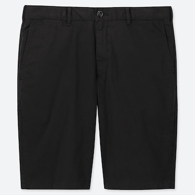 MEN CHINO SHORTS, BLACK, medium