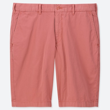 MEN CHINO SHORTS, ORANGE, medium